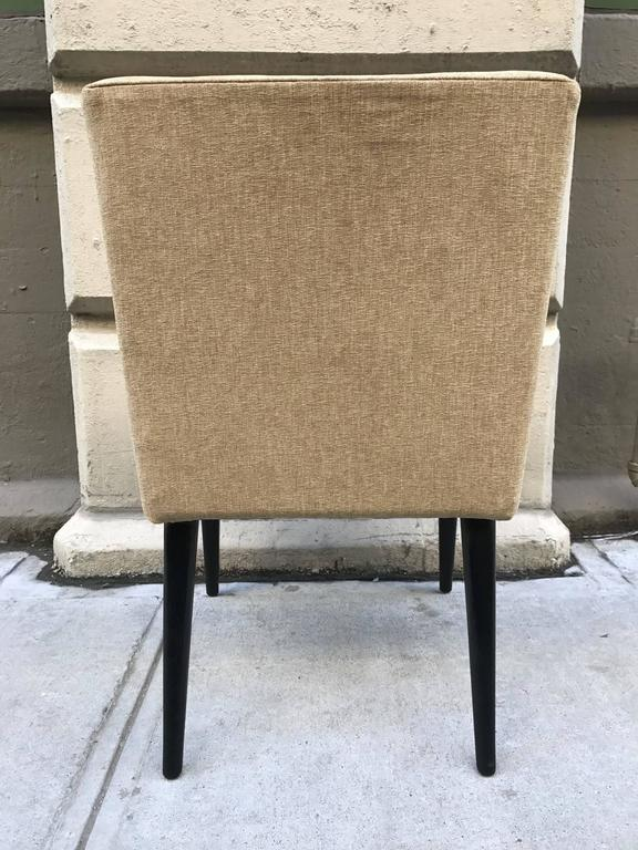 Pair of mid century modern lounge chairs for sale at 1stdibs for Mid century modern furniture new york