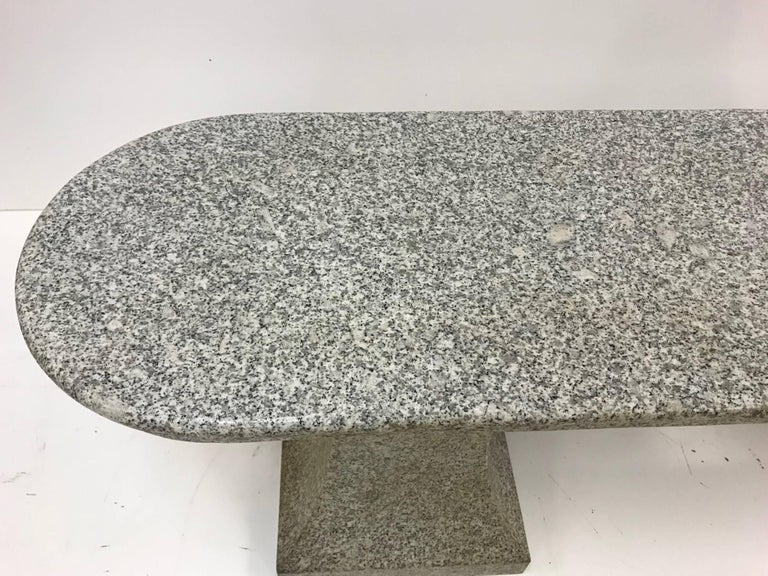 Italian Marble Garden Bench For Sale 1