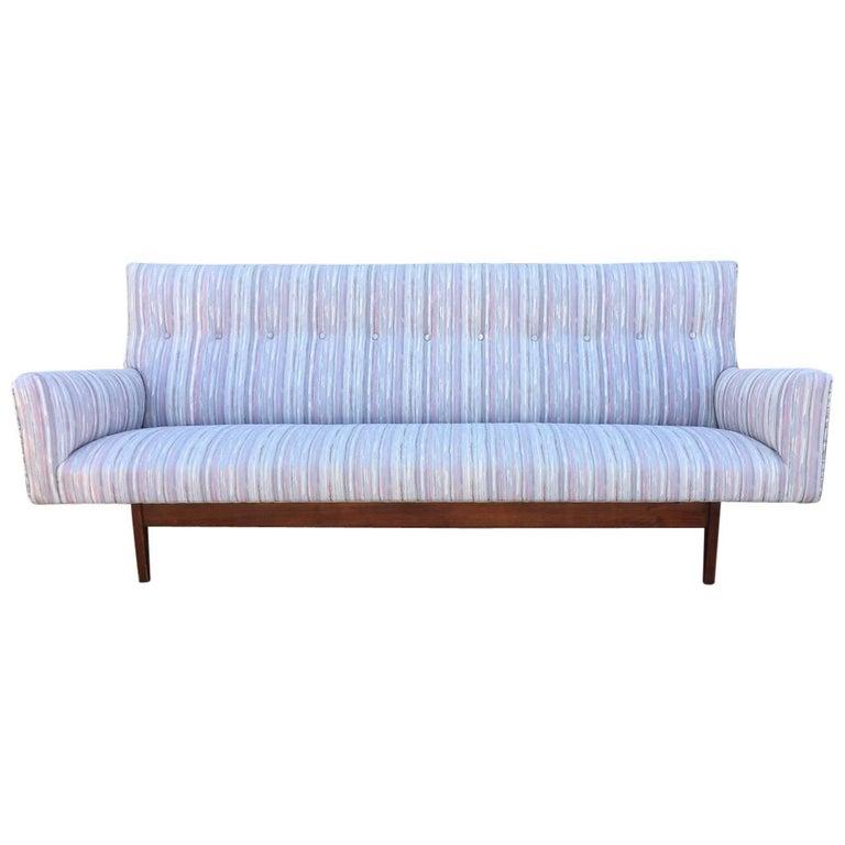 Mid-20th Century Jens Risom Sofa For Sale
