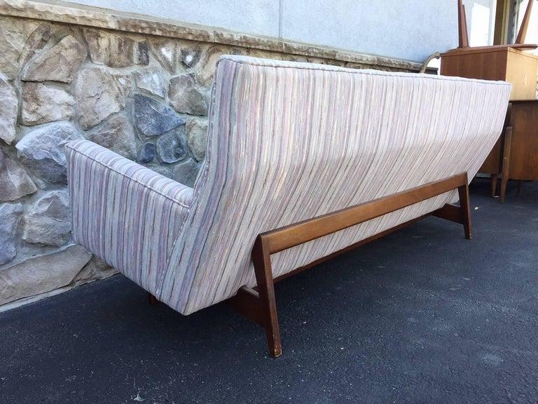 Mid-Century Modern Jens Risom Sofa For Sale