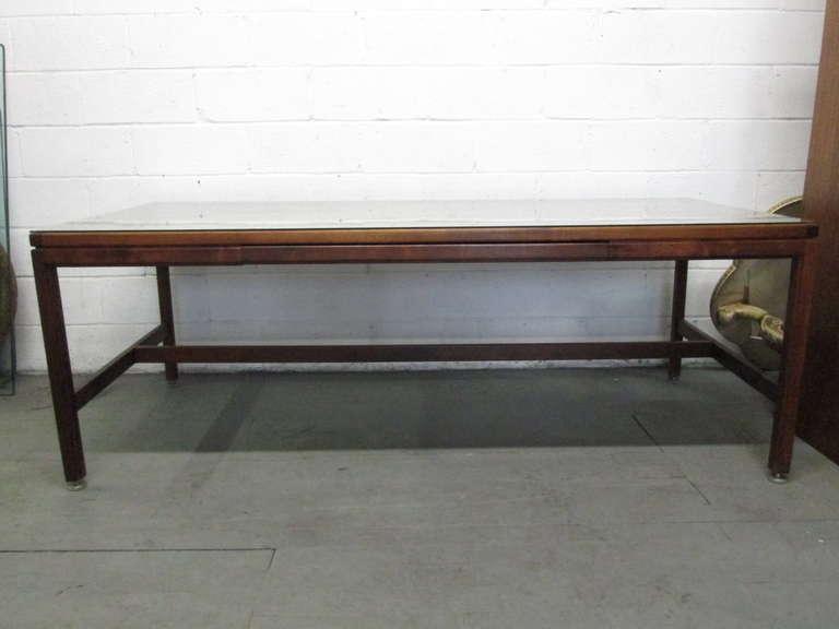 Mid-Century Modern Large Jens Risom Desk For Sale