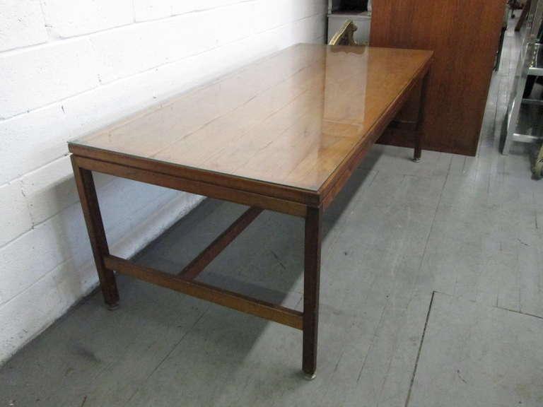 American Large Jens Risom Desk For Sale