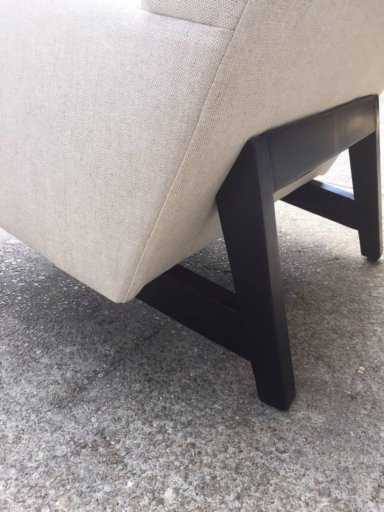 Jens Risom Lounge Chair In Good Condition For Sale In New York, NY