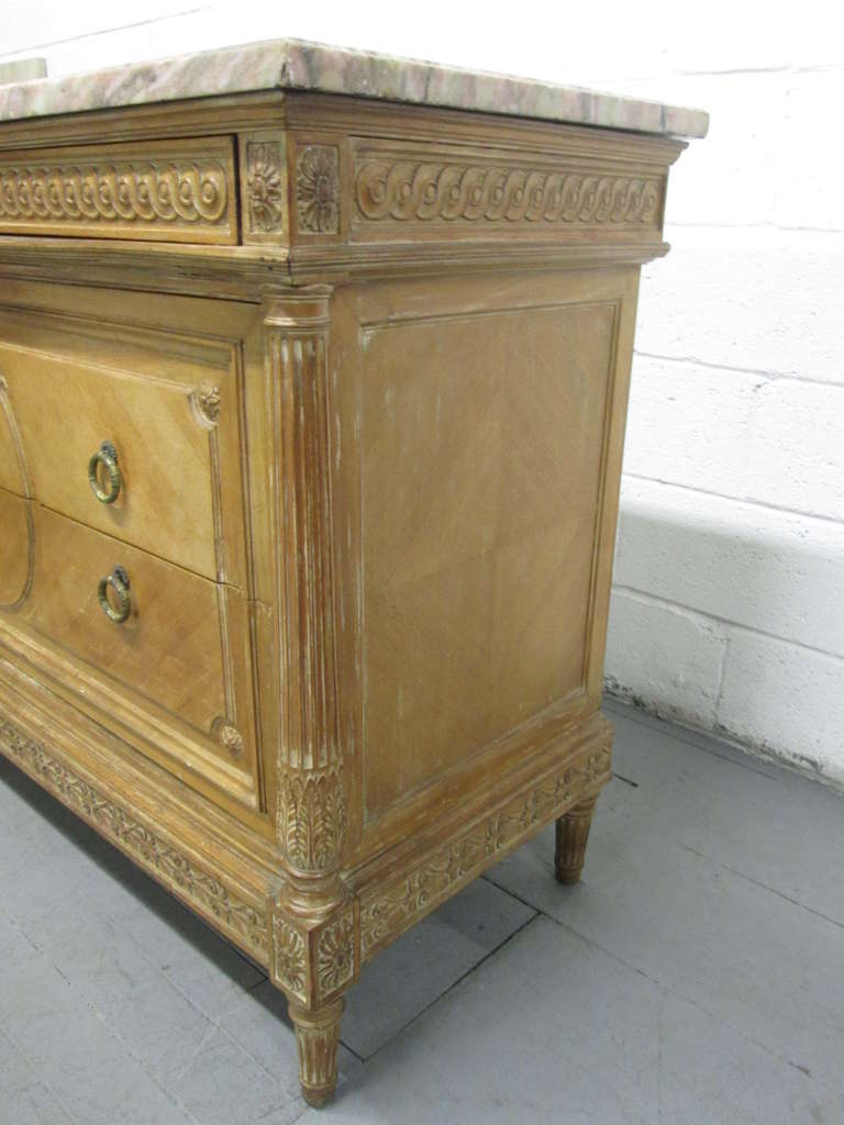 Antique French Marble-Top Dresser For Sale 2