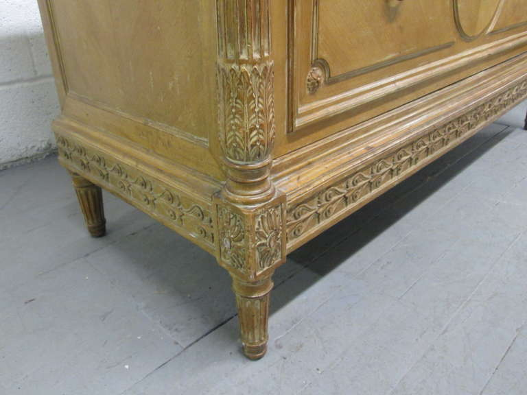 Antique French Marble-Top Dresser For Sale 3