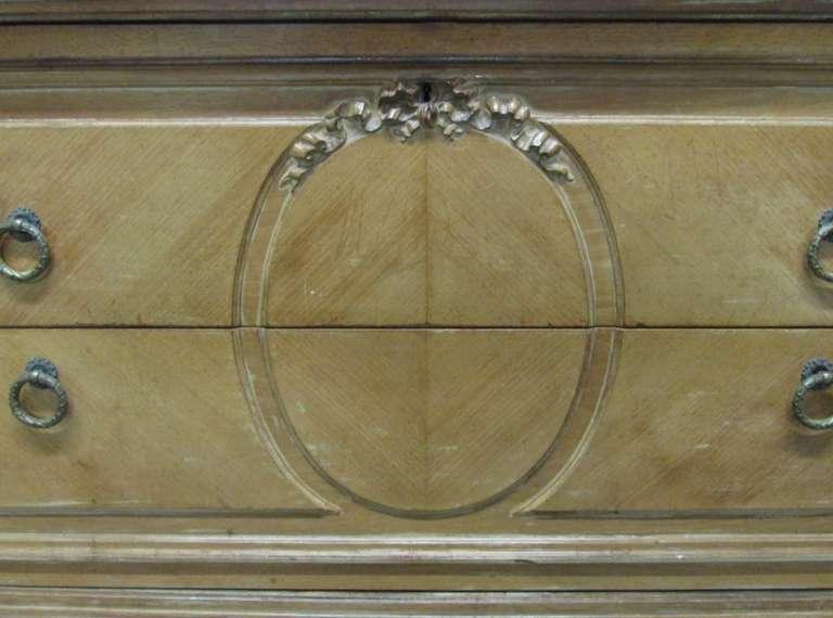 Antique French Marble-Top Dresser For Sale 4