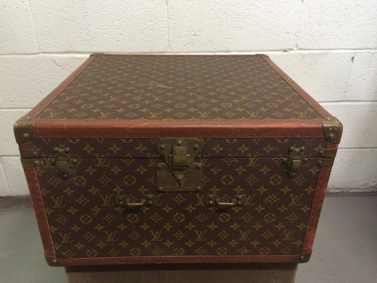 Vintage Louis Vuitton Hutschachtel 2
