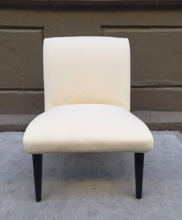 Mid-Century Modern Jens Risom Scoop Chair  For Sale
