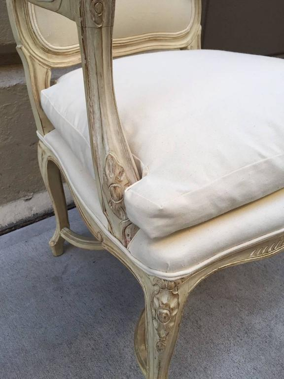 Mid-20th Century Pair of Louis XIV Style Armchairs For Sale