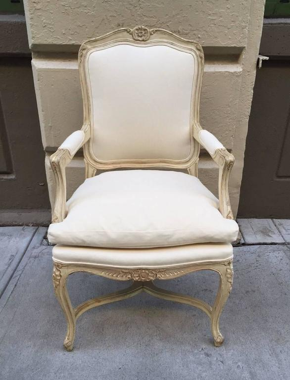 Pair of Louis XIV Style Armchairs In Good Condition For Sale In New York, NY