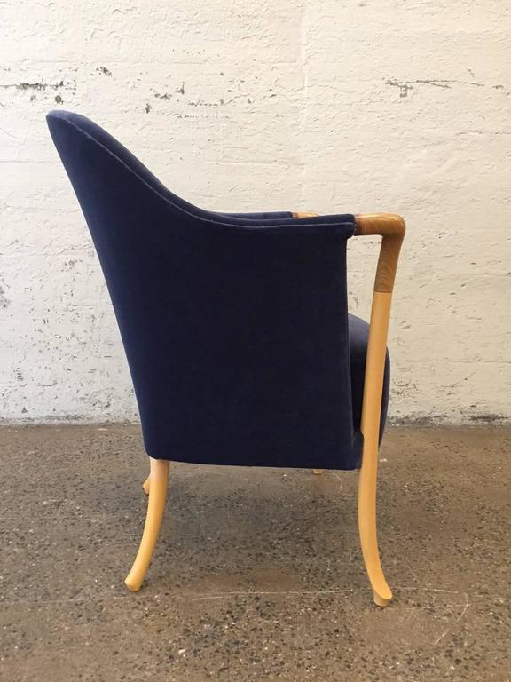 Mid-Century Modern Pair of Giorgetti Progetti Armchairs For Sale