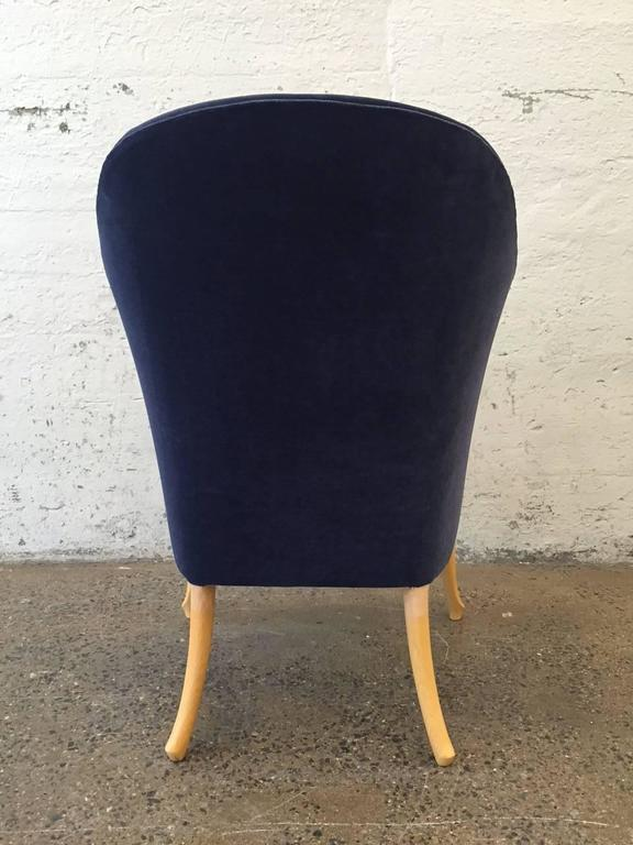 Pair of Giorgetti Progetti Armchairs In Good Condition For Sale In New York, NY