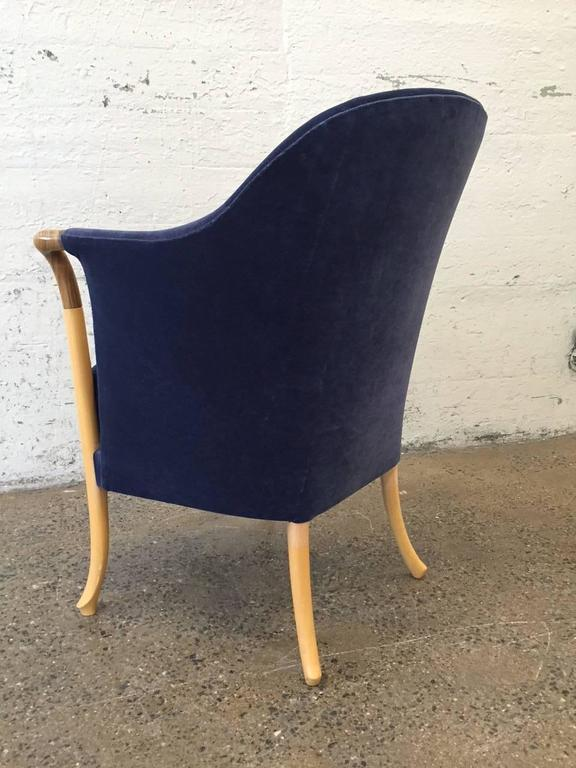 Late 20th Century Pair of Giorgetti Progetti Armchairs For Sale