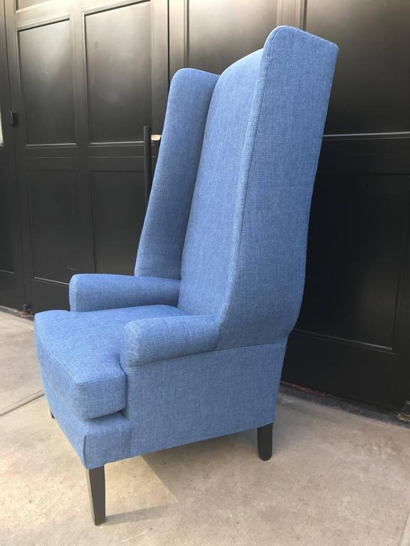 1950s Decorative Wingback Chair For Sale At 1stdibs
