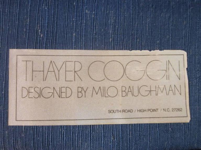 Milo Baughman for Thayer Coggin Curved Sofa In Good Condition For Sale In New York, NY