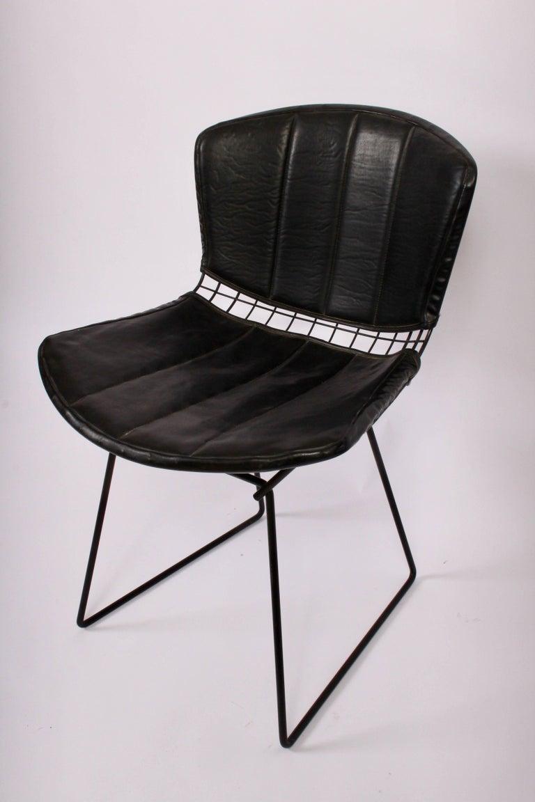 16 Original Vintage Harry Bertoia For Knoll Black Wire