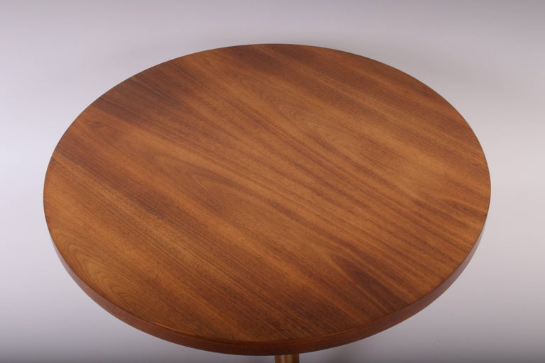Early 1950s T. H. Robsjohn-Gibbings for Widdicomb Tripod Occasional Table 2