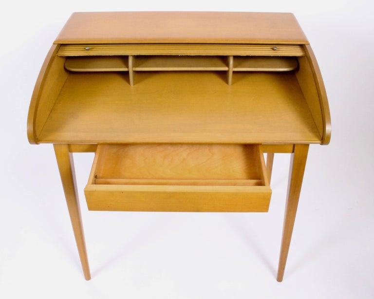 Heywood-Wakefield Streamlined Tambour Desk, 1960s 1
