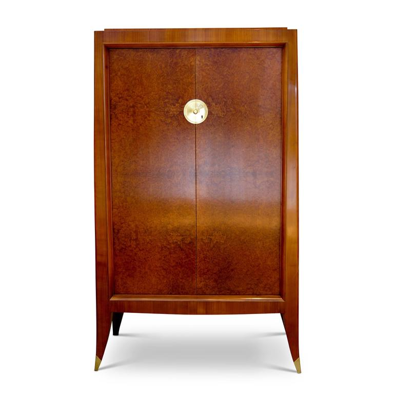 Very Fine Storage Cabinet of an Original Office Duo by Alfred Porteneuve In Excellent Condition For Sale In New York, NY