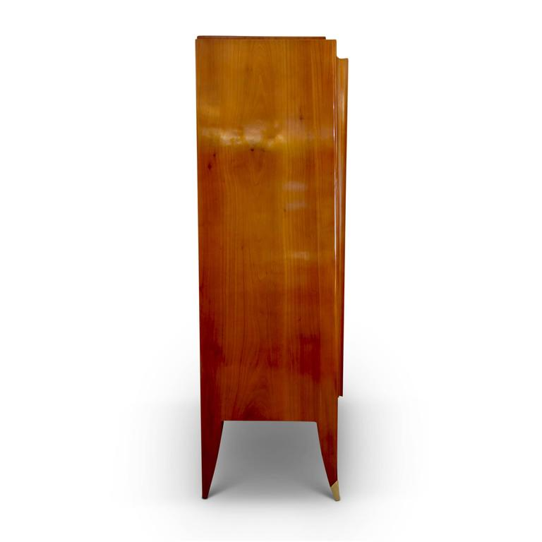 Mid-20th Century Very Fine Storage Cabinet of an Original Office Duo by Alfred Porteneuve For Sale
