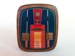 Robert McKeown Abstract Wood and Resin Box 1976
