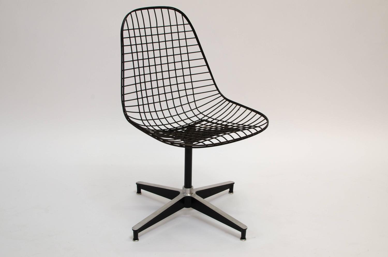Eames PKC Wire Chair Herman Miller 1955 For Sale At 1stdibs