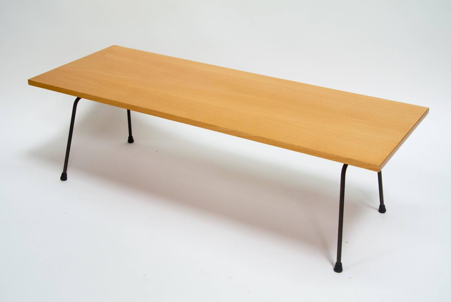 Clifford Pascoe Iron And Birch Coffee Table 1950s For Sale At 1stdibs