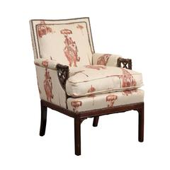 Chinese Chippendale Armchair
