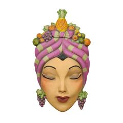 Large Carmen Miranda Inspired Art Piece