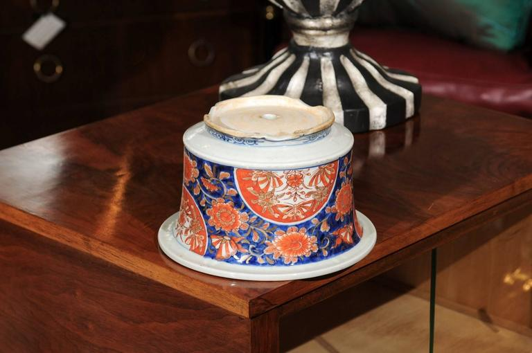 19th Century Japanese Imari Porcelain Planter For Sale