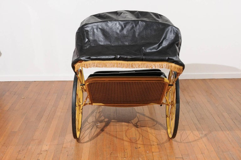 20th Century Mid-Century Rickshaw by Russell Woodard For Sale