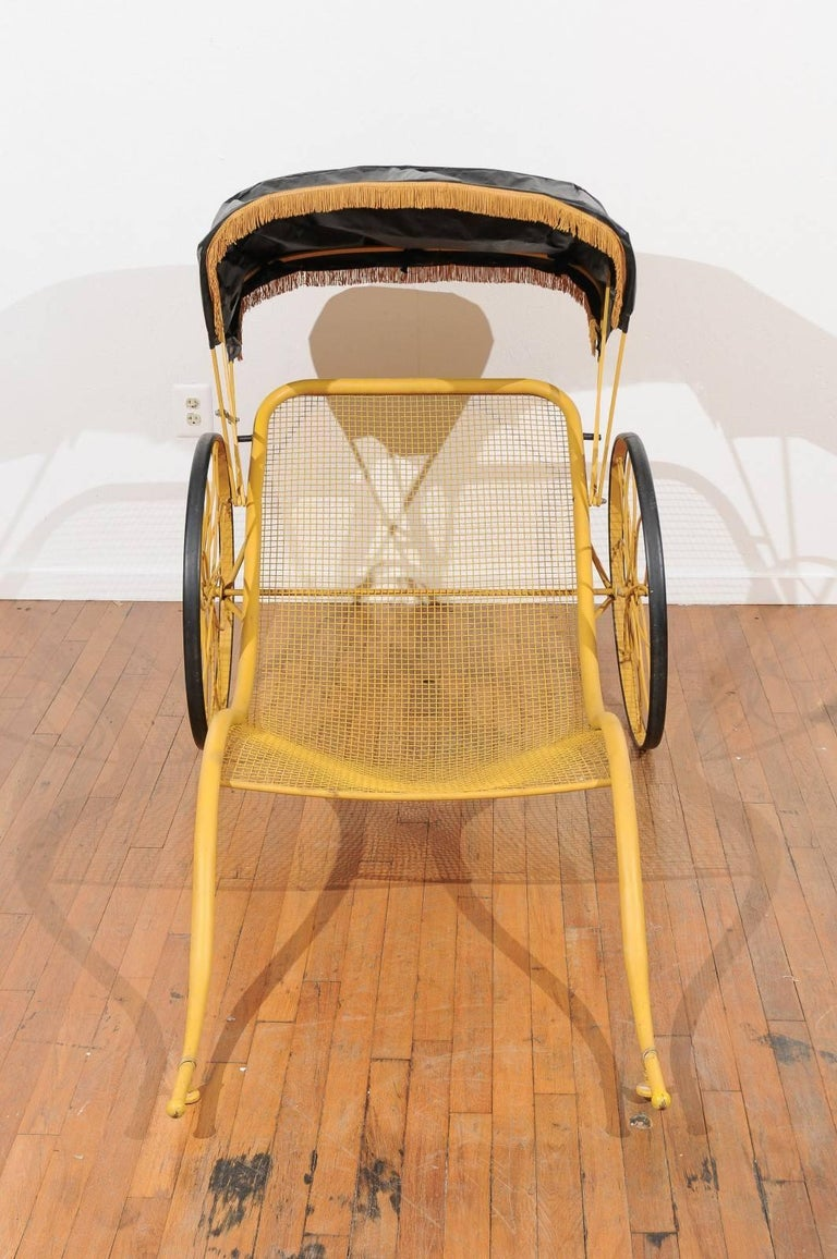 Mid-Century Rickshaw by Russell Woodard For Sale 1