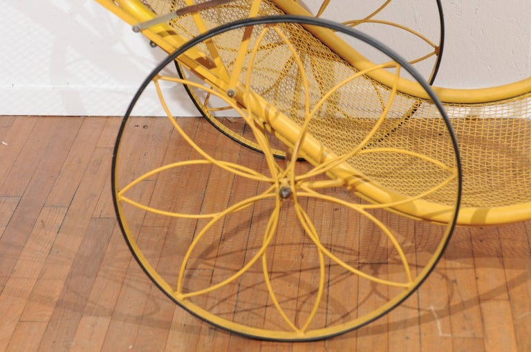 Mid-Century Rickshaw by Russell Woodard For Sale 3