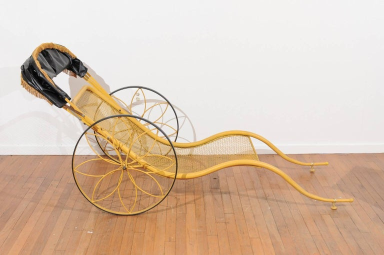 Mid-Century Modern Mid-Century Rickshaw by Russell Woodard For Sale