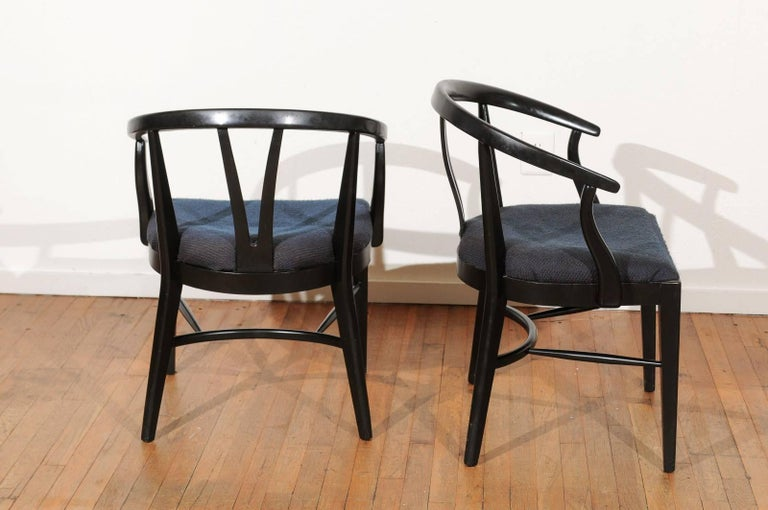20th Century Set of Six Mid-Century Dining Chairs For Sale