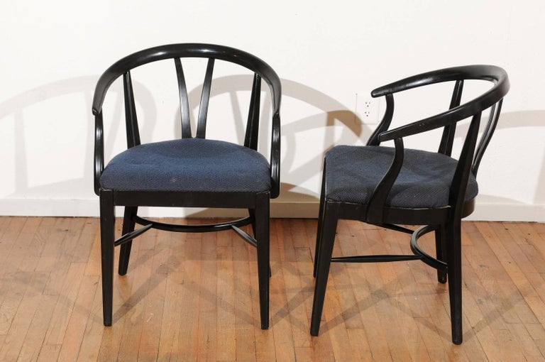 Set of Six Mid-Century Dining Chairs For Sale 1