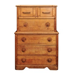 English Pine Secretaire