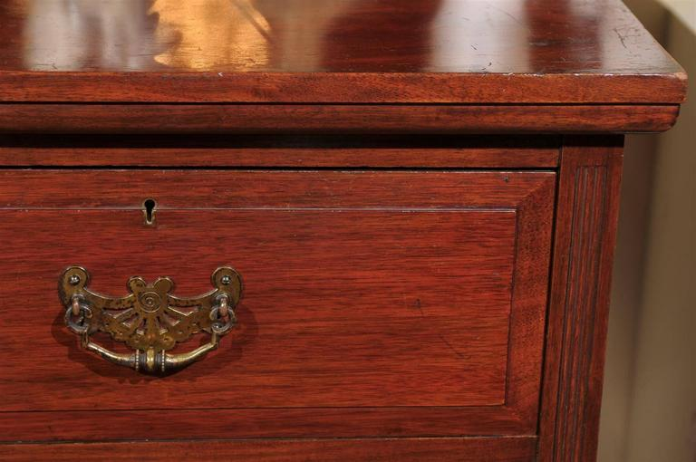 19th Century English Mahogany Chest  For Sale 2