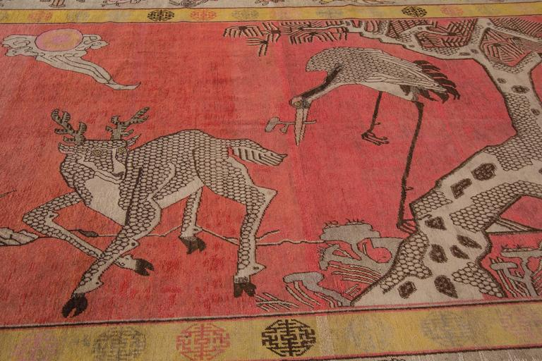 Extremely Rare Antique Samarkand Rug For Sale At 1stdibs