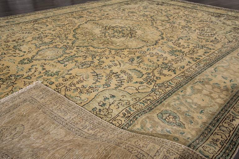 Gorgeous Vintage Persian Tabriz Rug For Sale At 1stdibs