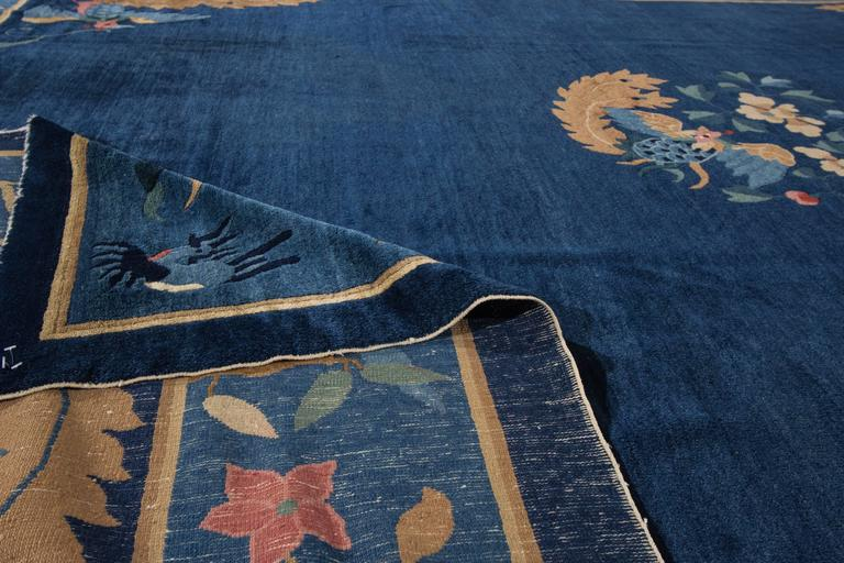 Simply stunning antique chinese peking rug for sale at 1stdibs for Chinese furniture norwalk ct