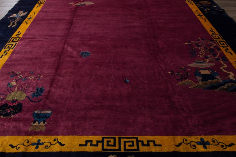 Antique chinese deco carpet for sale at 1stdibs for Chinese furniture norwalk ct