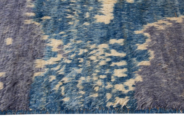 Contemporary Modern Moroccan-Style Rug For Sale