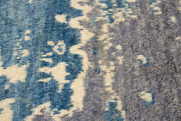 Modern Moroccan-Style Rug For Sale 2
