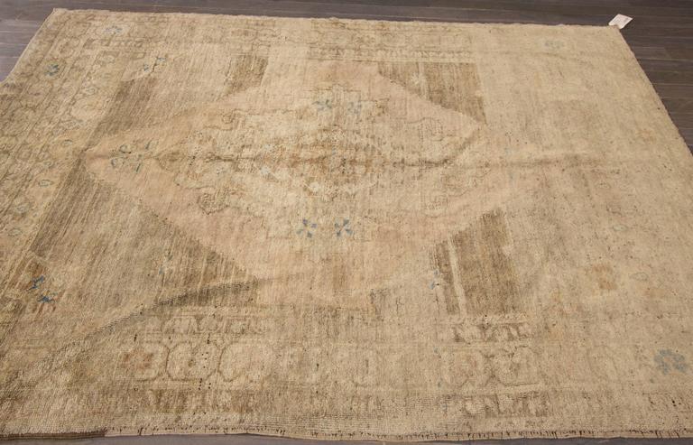 Nice looking vintage khotan rug for sale at 1stdibs for Nice rugs for sale