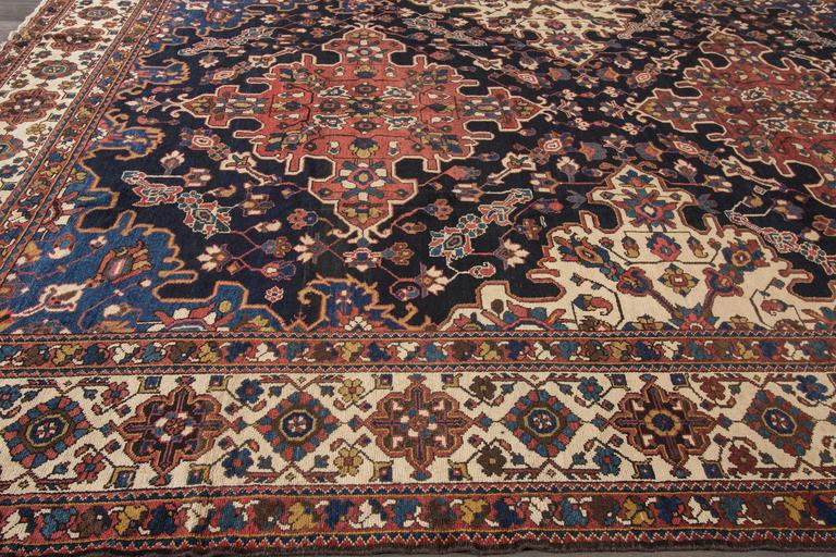 Antique Bakhtiary Rug For Sale At 1stdibs