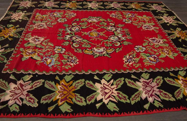 Nice looking bessarabian style kilim rug for sale at 1stdibs for Nice rugs for sale