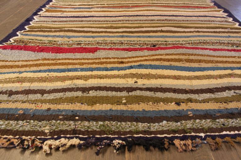 Beautifully Designed Vintage Persian Kilim Rug For Sale 2