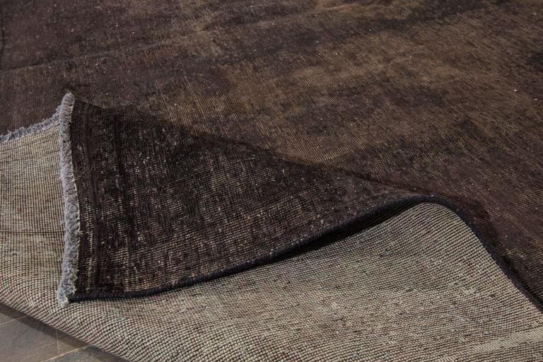 Simply Nice Overdyed Square Rug For Sale At 1stdibs