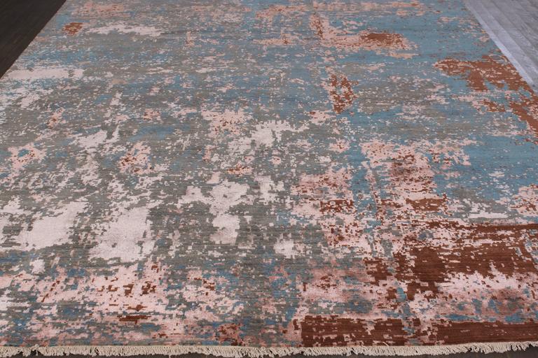 Zeitgenössischer indischer Teppich 2